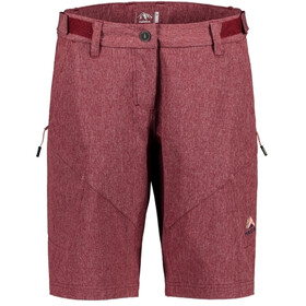 Maloja RosinaM. Multisport Shorts Dames, red monk